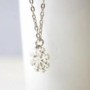Handmade Jewelry - Snowflake Necklace/Bracelet/Anklet, Handmade 🌸